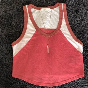 UO Truly Madly Deeply Cropped Tank Size M